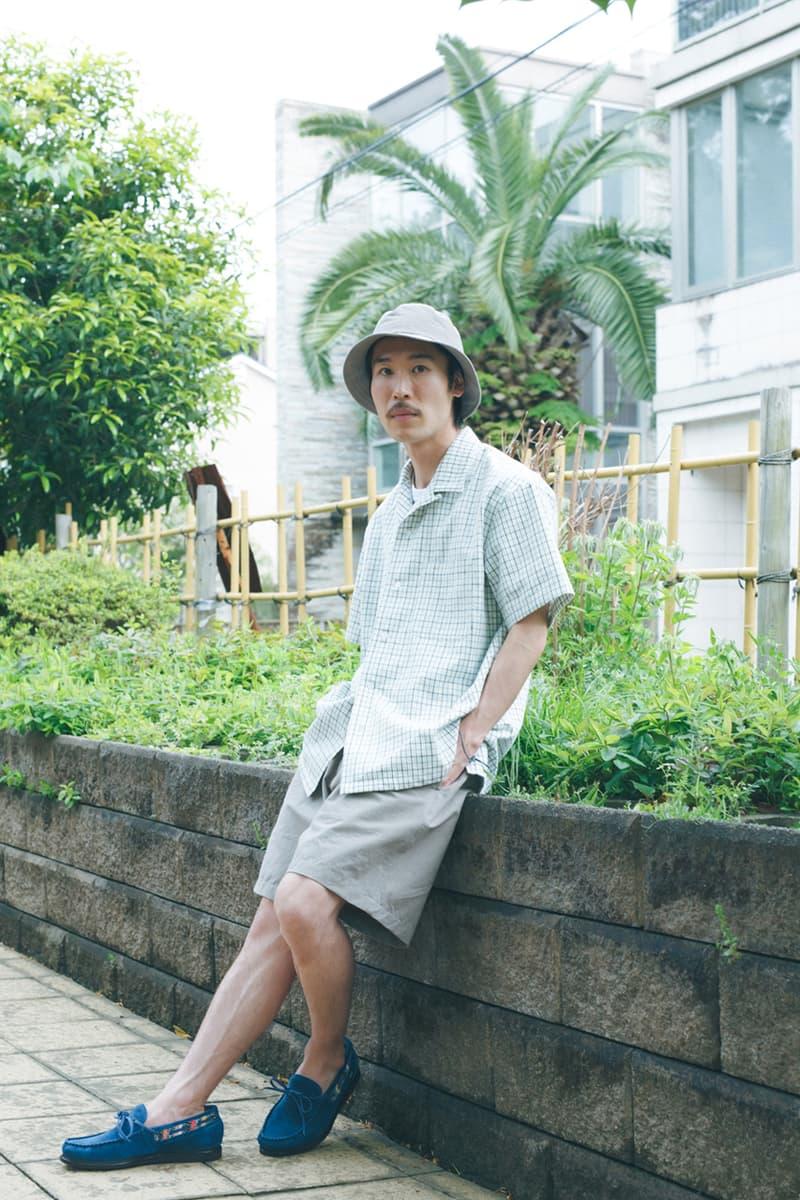 Kuon Early Summer 2020 Lookbook upcycled collection lookbook images sustainable sashiko patterns japanese prints