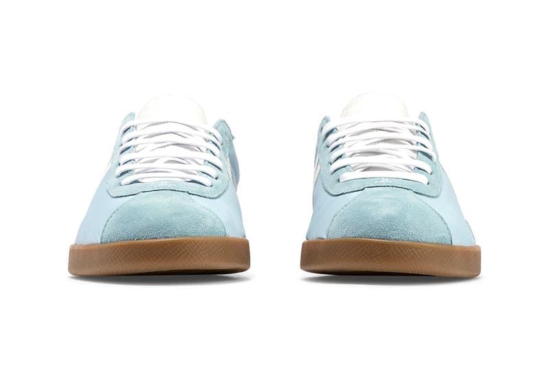 "Lanvin JL Low Top Sneaker ""Light Blue/White"" ""Ecru/Green"" Camel Rubber Sole Unit Shoes Footwear Release Information Drop Date Bruno Sialelli Retro Design HBX"