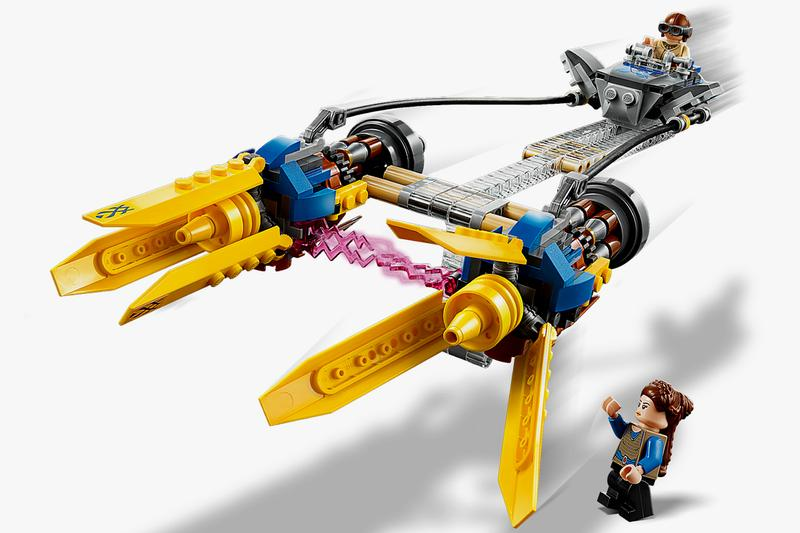 Lego Anakin's Podracer Kit Star Wars: Episode 1 20th Anniversary New York Toy Fair racer 1999