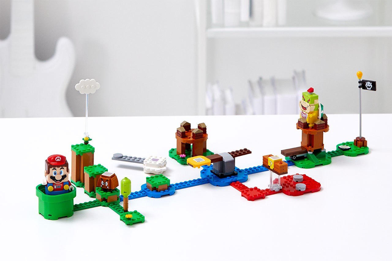 LEGO Super Mario Adventures Kits Closer Look reveal piranha plant bowser video electronic expansion august 1 2020 release date buy pre order dry bones goomba cloud pipe baby koopa figure