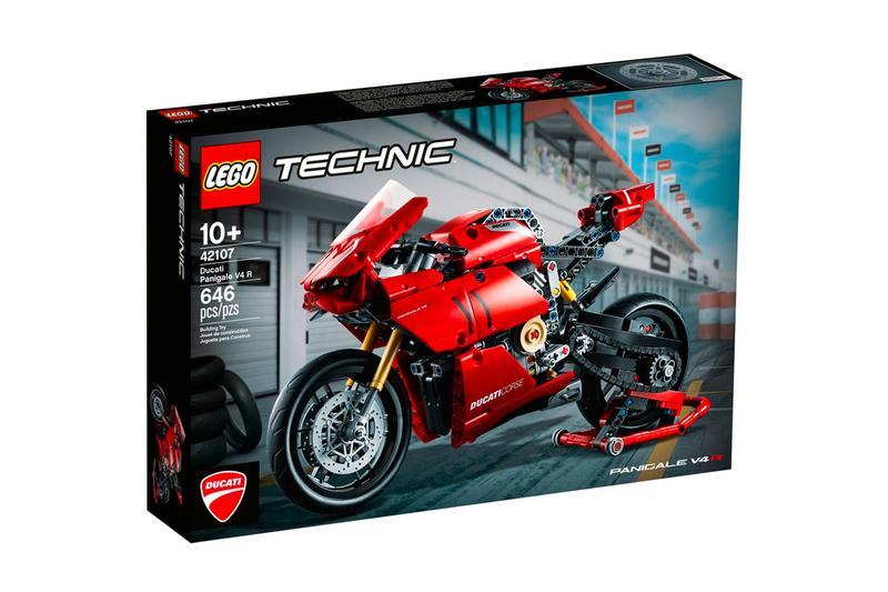 Lego Technic Ducati Panigale V4 R Release figures Bikes Motorcycles Italian Racing Red Blocks Toys Design Ducati Design Center