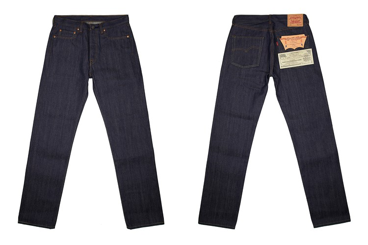 Levi's Vintage Clothing Looks to the Archive for Japanese 501 Jean