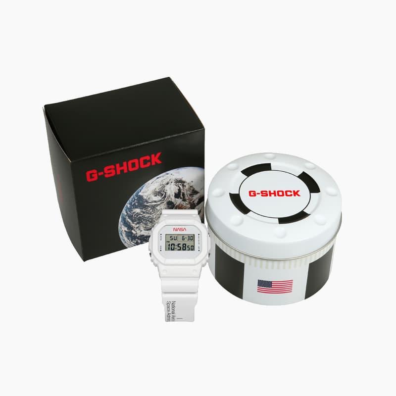 G-SHOCK DW-5600NASA20-7CR Watches Release Where to buy Price 2020 NASA