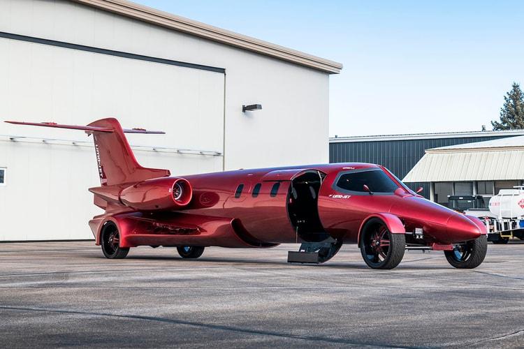 """Custom 42-Foot Limo-Jet """"Learmousine"""" Concept Lands at Mecum Auctions"""