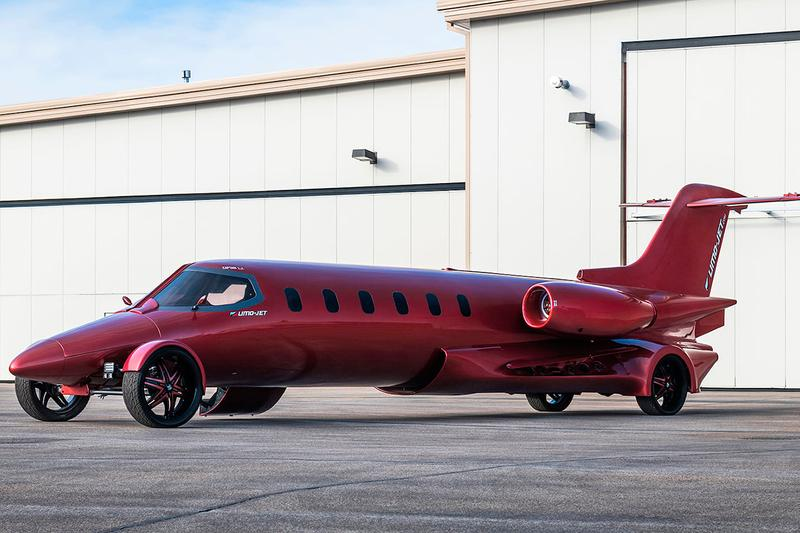 Limo-Jet 42' Lear Jet Learmousine Concept Mecum Auctions 8.1-liter Chevrolet Vortec V8 truck engine custom build Dan Harris custom built party bus