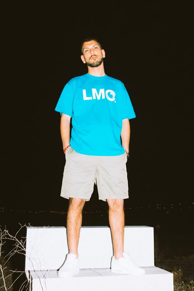 LMC 5th Anniversary Red Label Lookbook five graphics menswear streetwear spring summer 2020 collection seoul korean brand globe prints
