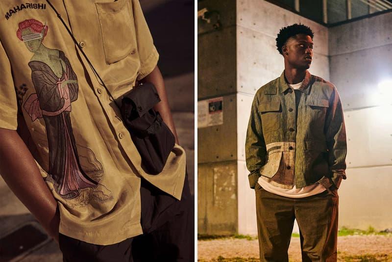 Maharishi Summer 2020 Collection Lookbook militaria americana clothes garments japanese vintage DPM neo rain camo ikat cotton stitchrain choc chipa