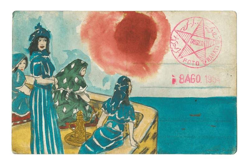 "Marcel Dzama ""Pink Moon"" David Zwirner Online Exhibition Watercolor Graphite Paper Mexico Morocco"