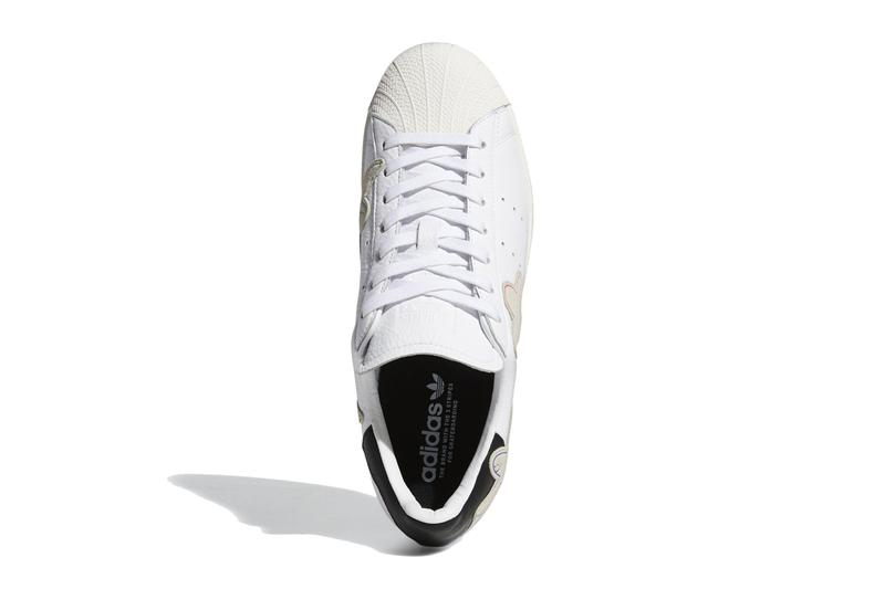 mark gonzales gonz adidas originals superstar shmoo FW8029 cloud chalk white core black release date info photos price