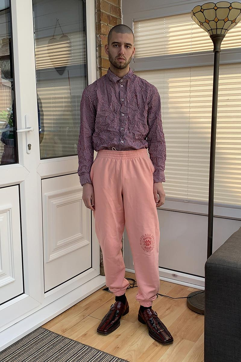 Martine Rose SS20 spring summer 2020 collection e-commerce web store launch release details buy cop purchase zoom whatsapp lookbook editorial