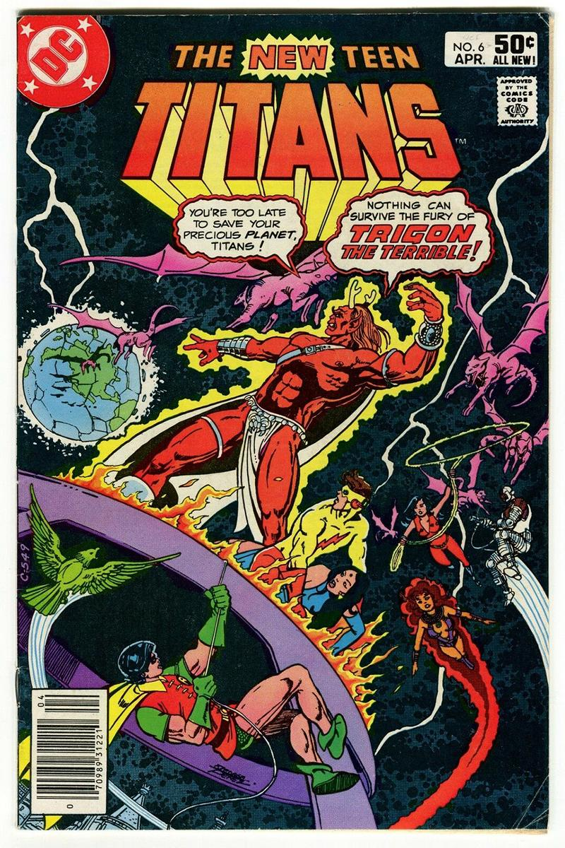 Marvel Comic with DC Cover Hits eBay for Over $1 million USD Ronald's Printing Marvel-Two-In-One #74 auction 1,200,000 7.5 condition new teen titans #6
