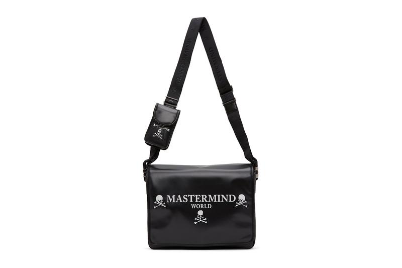mastermind WORLD Skull Messenger Bag Release Info Buy Price Black White