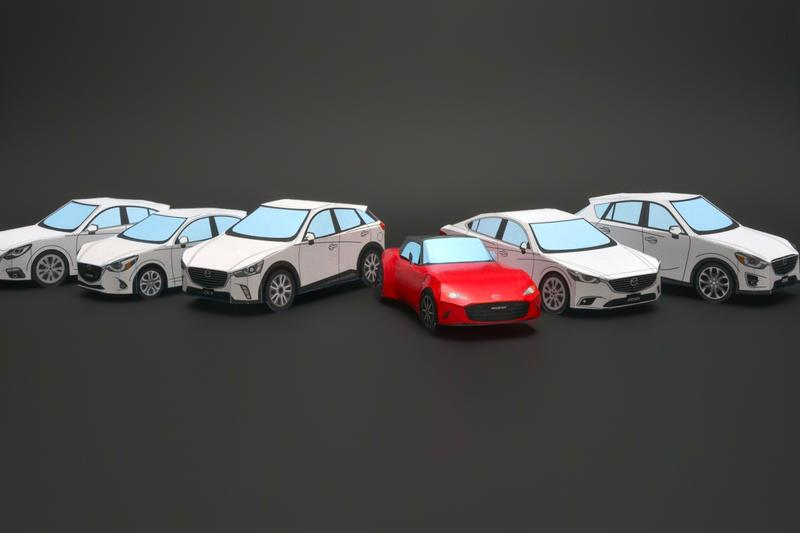 Mazda JDM Papercraft Release