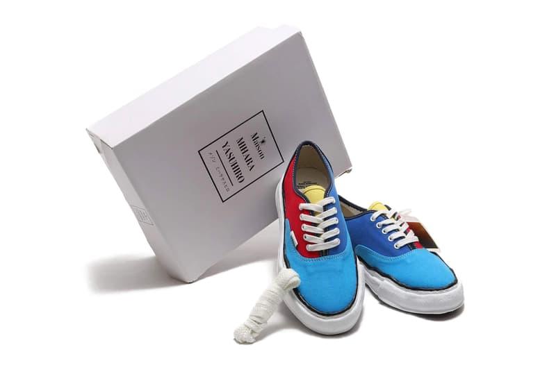 MIHARAYASUHIRO OG Sole Canvas Low Multicolor Melted Vans Low Top Clown Shoe