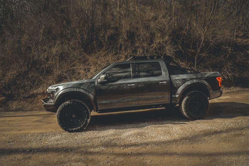 mil spec automotive modifications custom special edition trucks supertrucks ford f 150 pickup