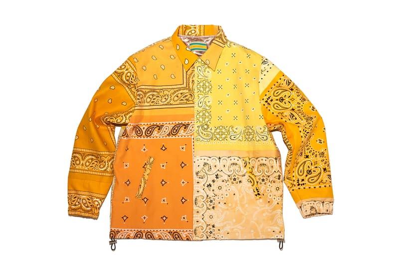 mindseeker Vintage Bandana Overfit Coach Jacket Release Info Buy Price Blue Green Yellow Orange Pink Red Purple