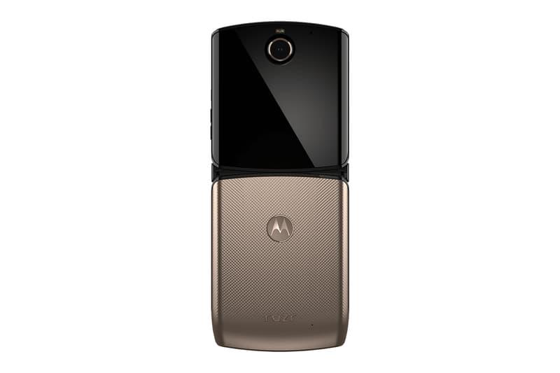 Motorola Moto Razr Available Blush Gold Verizon