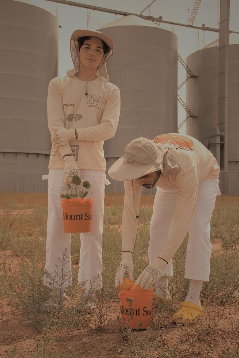 Mount Sunny Gardening Club Earth Day Collection Release Info Buy Price T shirt short long sleeve bucket gloves seeds