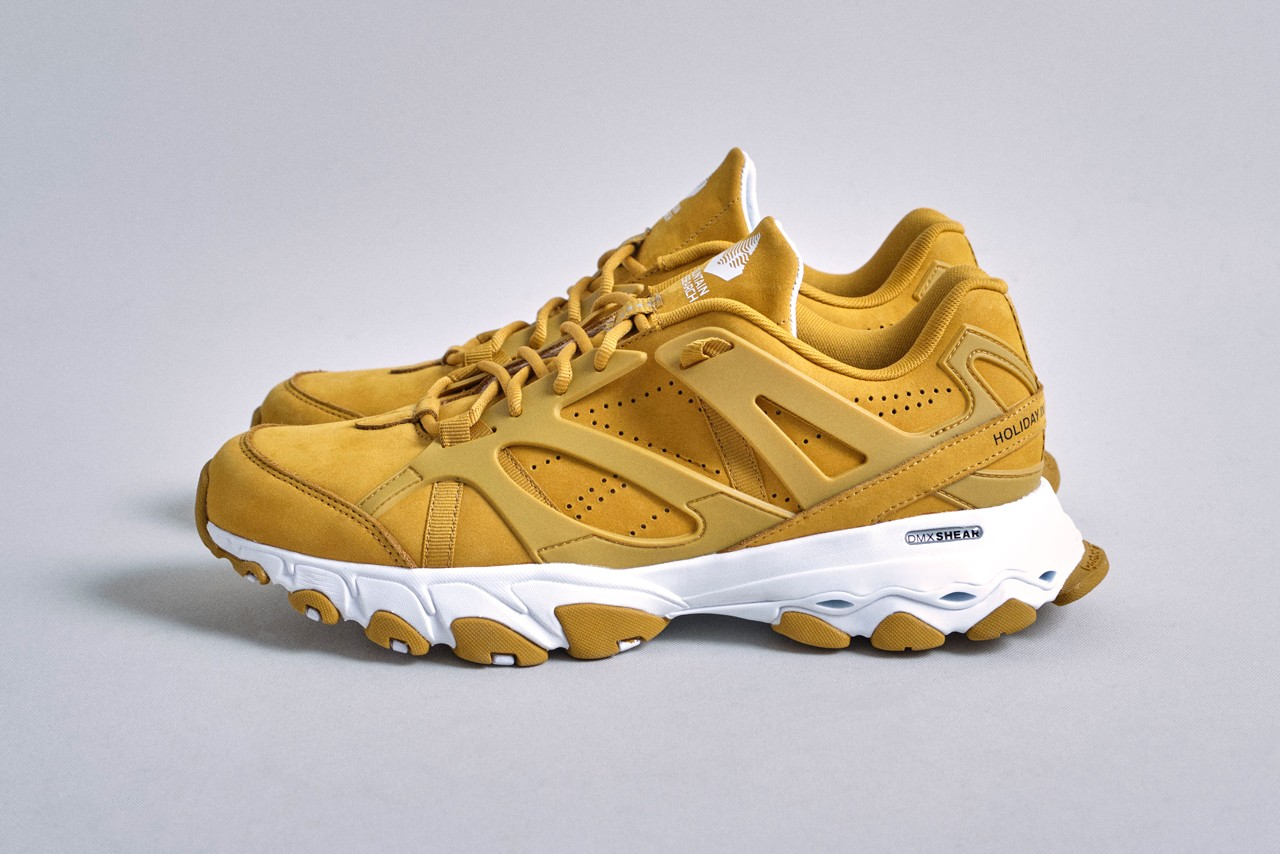 Mountain Research Reebok DMX Trail Shadow backcountry studies camel tan yellow soil release date info photos price