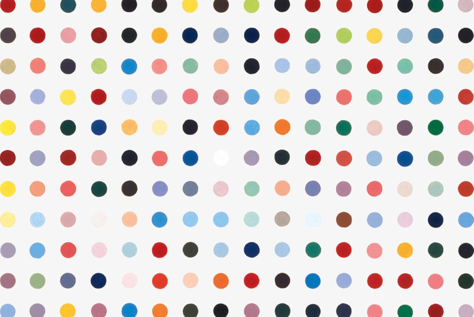 Mschf Severed Spots Project Damien Hirst Print Hypebeast