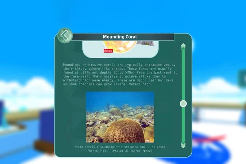 nasa nemo net virtual ocean expedition coral reef preservation