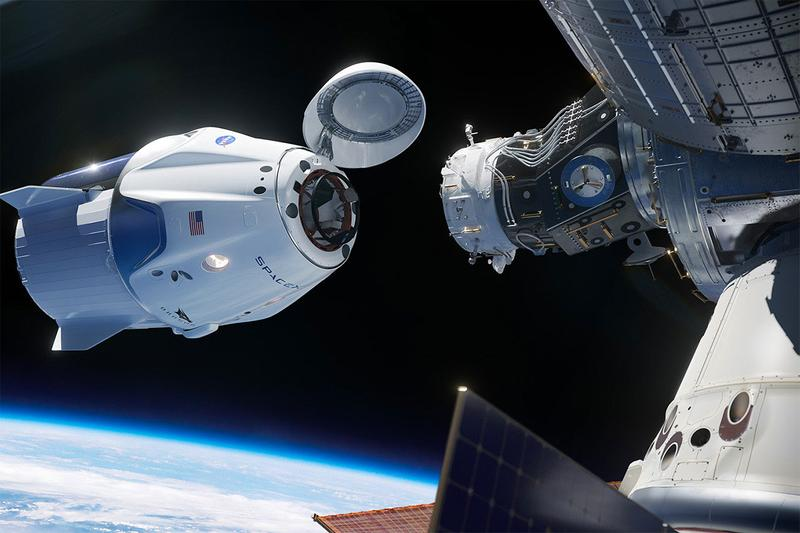 NASA and SpaceX Launch Astronauts to ISS