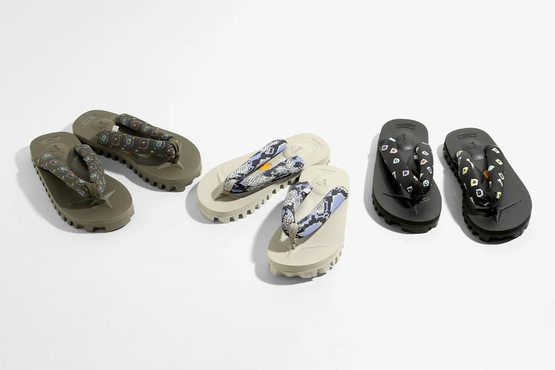 NEEDLES x Suicoke Spring/Summer 2020 Geta Sandals collaboration ss20 release date info buy nepenthes japan packable may 2