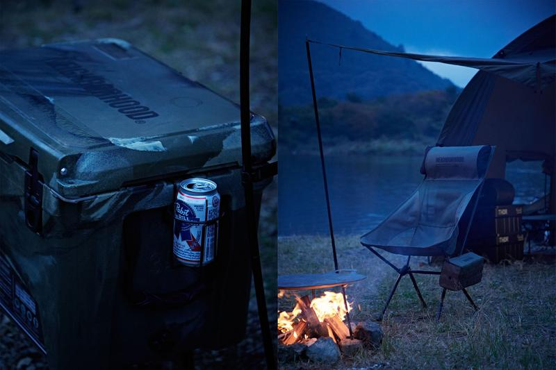 Neighborhood Helinox Abu Garcia Outdoor Collaboration Info Raid Japan Tackles shop Lure fishing electric sunglasses camping tents nature