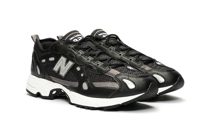 new balance 827 sneakersnstuff black white silver release information buy cop purchase ML827 Ml827aad Ml827aag