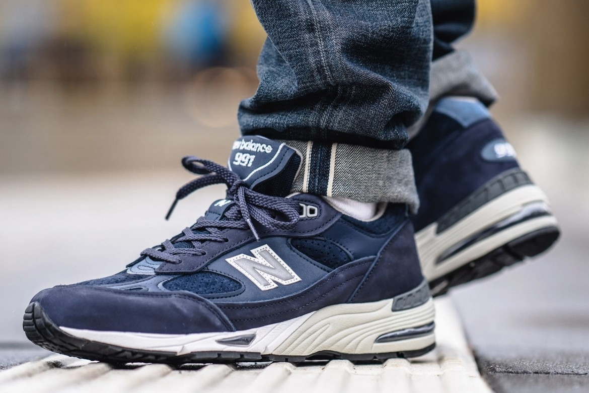 New Balance 991 Made In England Bluesman Release Hypebeast