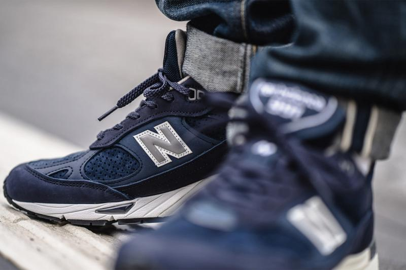 "New Balance 991 Made in England ""Bluesman"" Release Information Drop Date Sneaker Footwear Luxury Materials Pigskin Suede Blue 3M ABZORB"