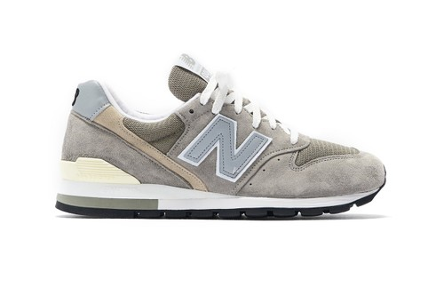 New Balance 996 Releases in Traditional Grey