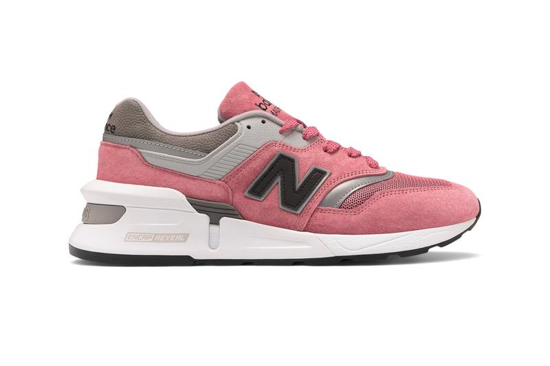 New Balance Made in US 997S Pink/Grey Release m997spg footwear sneakers kicks made in United States Sports Concepts Rose