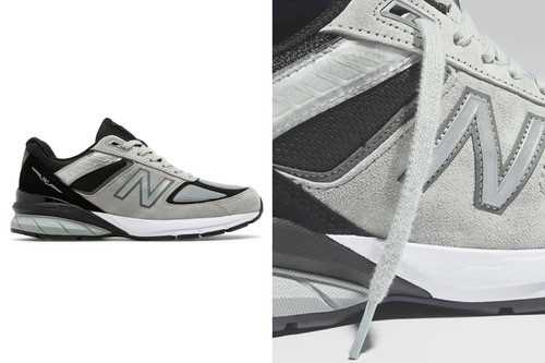 New Balance Made in US 990v5 Appears in Grayscale Colorblocking
