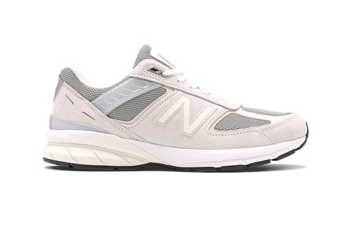 "New Balance Lathers Made in US 990v5 in Creamy ""Nimbus Cloud"" Colorway"