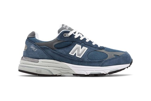 "New Balance Drops Made in US 993 in Frosty ""Vintage Indigo"""