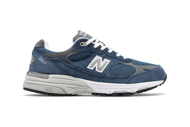 new balance made in us 993 vintage indigo with grey colorway navy release ss20 spring summer 2020