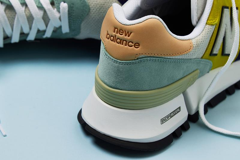 new balance tokyo design studio rc 1300 tf release information oatmeal peach pink mustard yellow marigold blue grey navy suede leather buy cop purchase