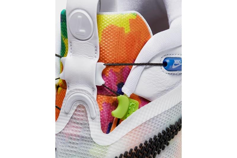 nike adapt bb 2 0 tie dye bq5397 100 white bright crimson release date info photos price