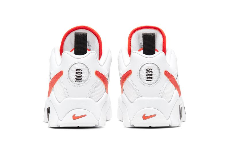 Nike Air Barrage Low Team Orange rucker park basketball court courts new york city harlem white black 10039