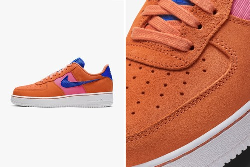 "Nike's Air Force 1 '07 LV8 Gets Spring-Ready ""Orange Trance"" Makeover"