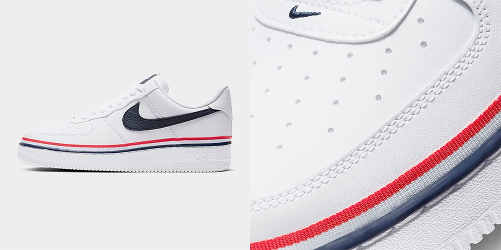 Tricolor-Striped Air Force 1 '07 LV8