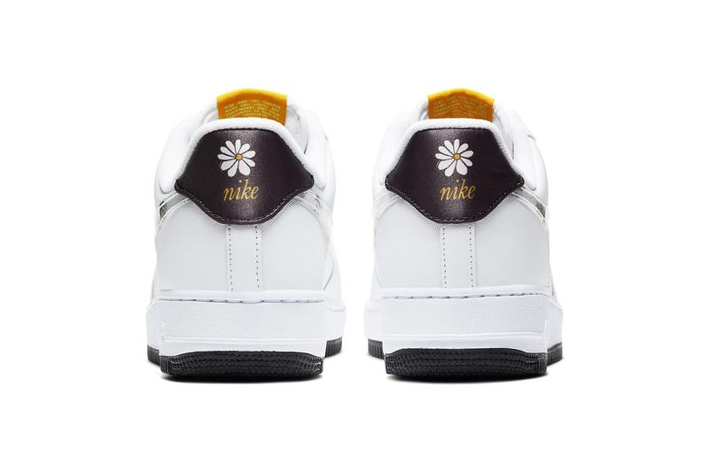 Nike Air Force 1 07 LV8 Floral flower white speed yellow pale ivory black CW5571 100 release date info photos price