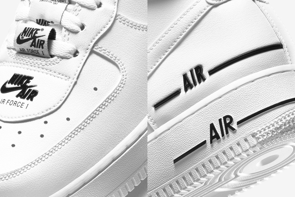 Nike Air Force 1 High 07 Lv8 3 White Black Hypebeast