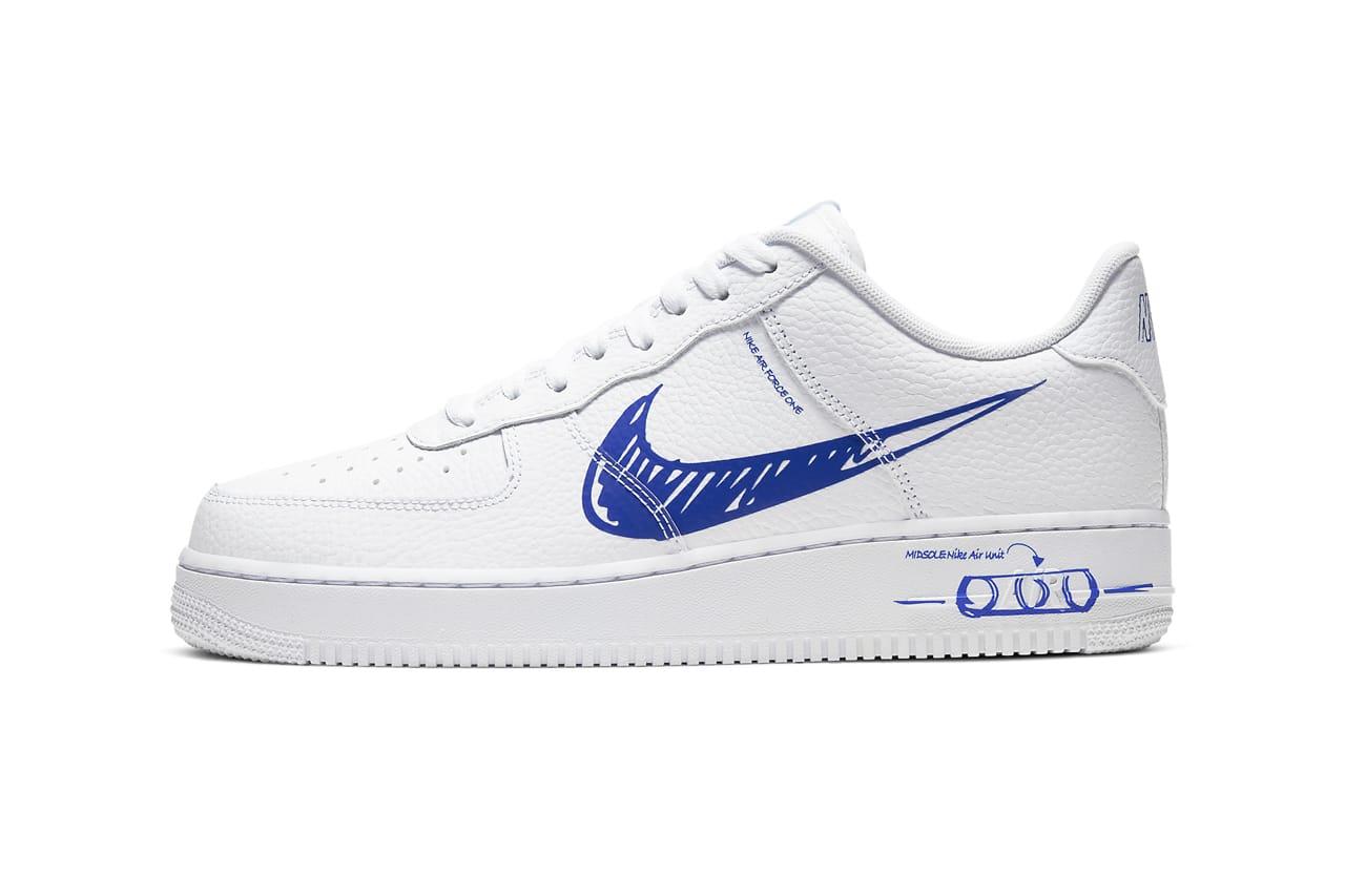 Nike Air Force 1 Low Sketch \
