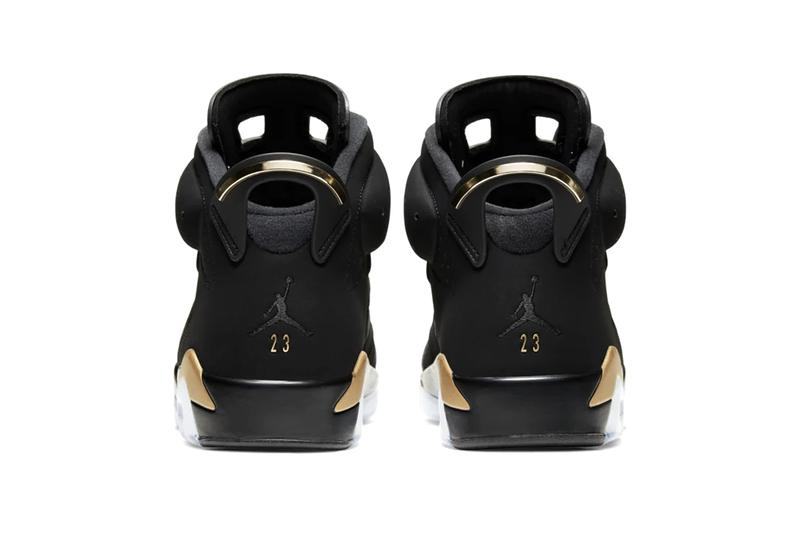"Nike Air Jordan 6 ""DMP"" Defining Moments Pack 2020 Release Information Official Drop Date Closer Look Black Icy Sole Unit Gold Details Michael Jordan Basketball Limited Edition Sneaker Footwear"