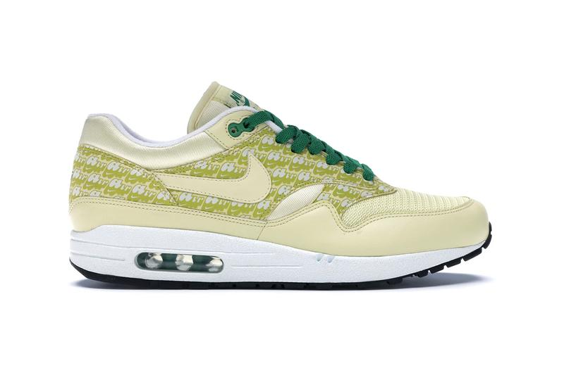 "Nike Air Max 1 PRM ""Pine Green"" Powerwall First Look true white lemonade py rates"
