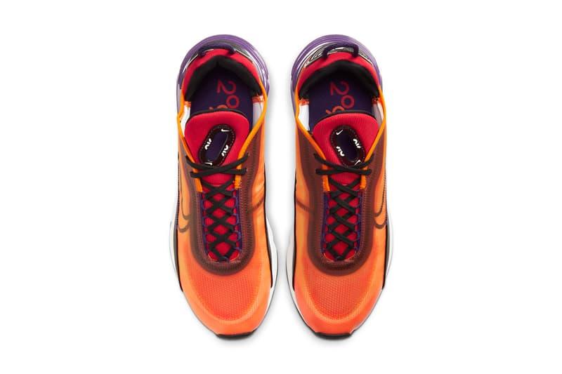 nike sportswear air max 2090 retro futurism pack orange purple pink white green black release date info photos price