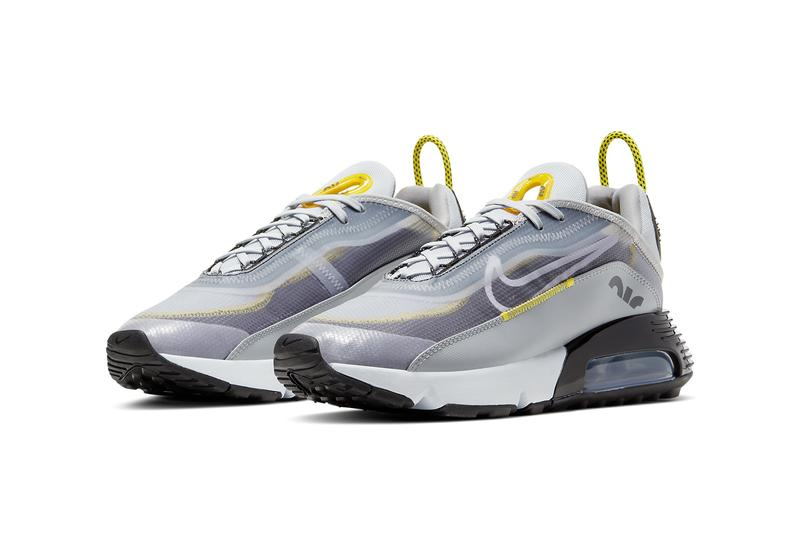 nike air max 2090 wolf grey particle pure platinum white yellow BV9977 002 release date info photos price