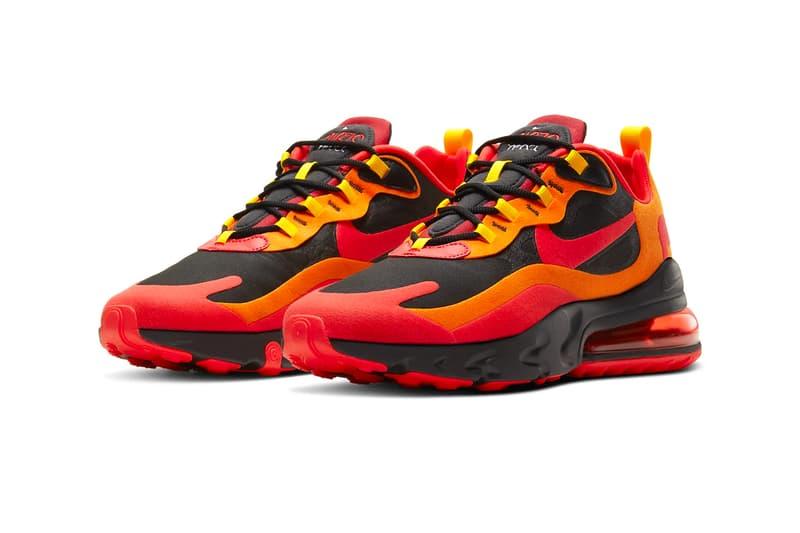 Nike Air Max 270 React Magma Release Hypebeast